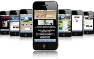 Site pour mobile